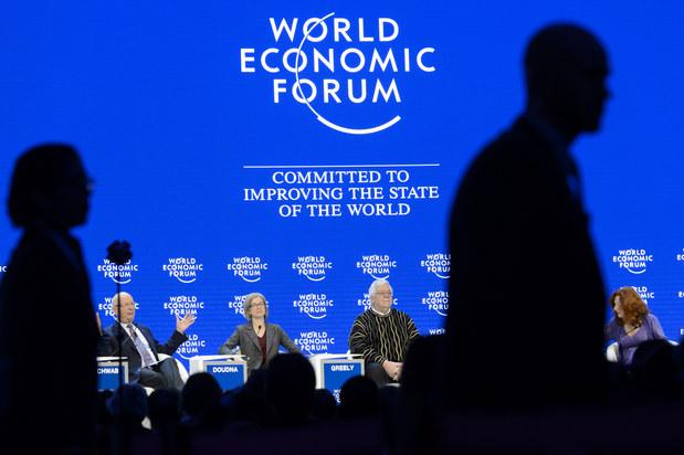 P�za najv���ch glob�lnych b�nk v Davose: To my sme t� fintech inov�tori!