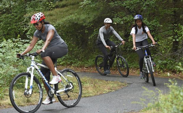 Prezident Obama s rodinou prezentuje svoj vzťah k prírode