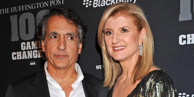 Spoluzakladatelia Huffington Post, Arianna Huffington a Kenneth Lerer